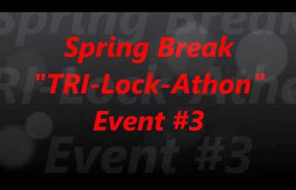 Взлом отмычками Tubular lock   (212) Spring Break Tri Lock Athon Event #3 (Thank you Steel Pinnings and Big Willy For this awesome event.Be Safe and Stay Legal.) (Время взлома: 5 мин.)